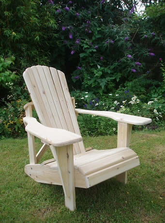 & Adirondack Chair perfect for releaxing in in your garden