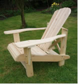 The Higher  Seat Adirondack Chair