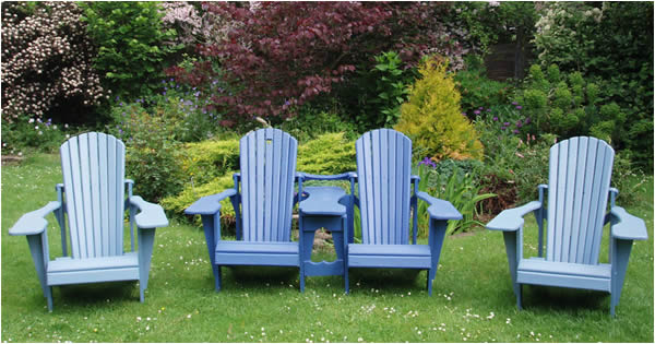 Adirondack Chairs And Benches