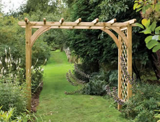 The Large Ultima Pergola Arch