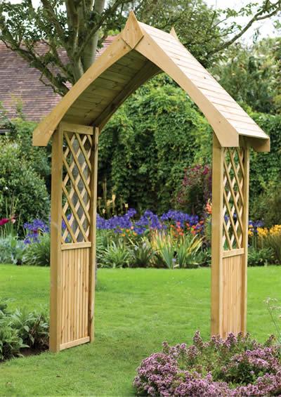 The Bath Arch - The Bath Garden Arch From The Natural Gardener