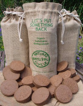 20 Discs of Natural Coir Compost