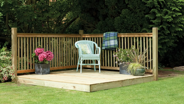 Garden decking for Decking in back garden