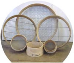 Garden Sieves Garden Riddles or Graden Griddles from the