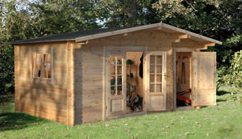 The Wrekin Log Cabin