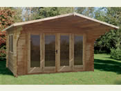 The Abberley Log Cabin - 4.0m * 3.0m - Easy Kit Form