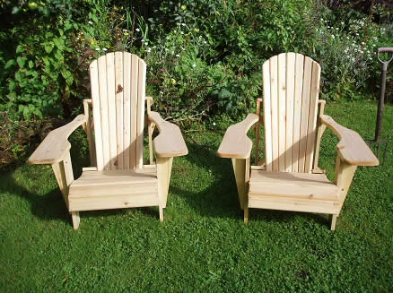 One Adirondack Chair