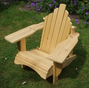 Two  Baby Adirondack chairs