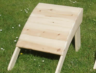 The Adirondack Higher Stool - One Stool