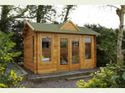 The Alderley Log Cabin - 4.0m * 3.0m - Fully Assembled