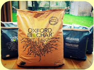 3 Kg Biochar with 360 Gr Mycorrhiza and 2kg Seaweed Granules