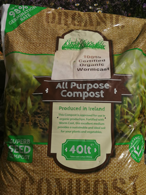 2 x 10 Litre Bags of Biohumus Wormcompost