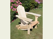 One Raised Seat Folding Chair