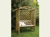 The Galway Garden Arbour Bench