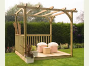 The Ultima Pergola Deck Kit