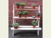 Handmade Ladder Planter