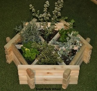 "Herb Wheel Planter - 2'6"" (76cm) Wide"