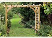The 'Large Ultima' Garden Arch