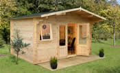 Nevis Log Cabin (4m * 3m) - Easy kit form