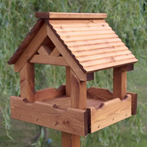 The 'Lodge' Bird Table