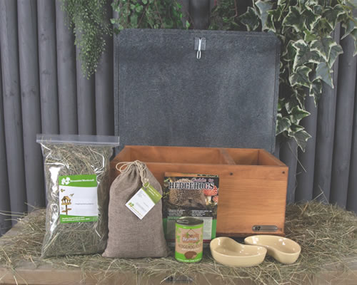 Eco Hedgehog Home with 'Starter' Kit