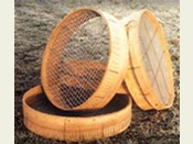 18� Diameter Sieve or Riddle with Hand Woven  1/2�  Mesh