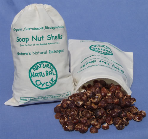 1kg Bag of Soap Nut Shells