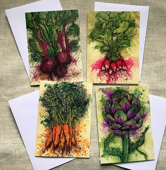 Vegetable Card Pack